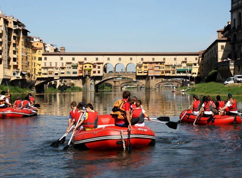 firenze rafting ponte vecchio