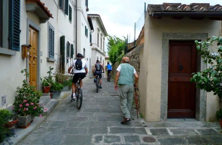 greenways fiesole florence self guided bike tour