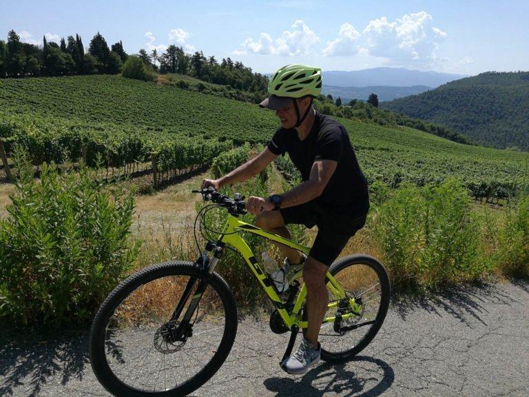 Sunset Bike Tour near Florence