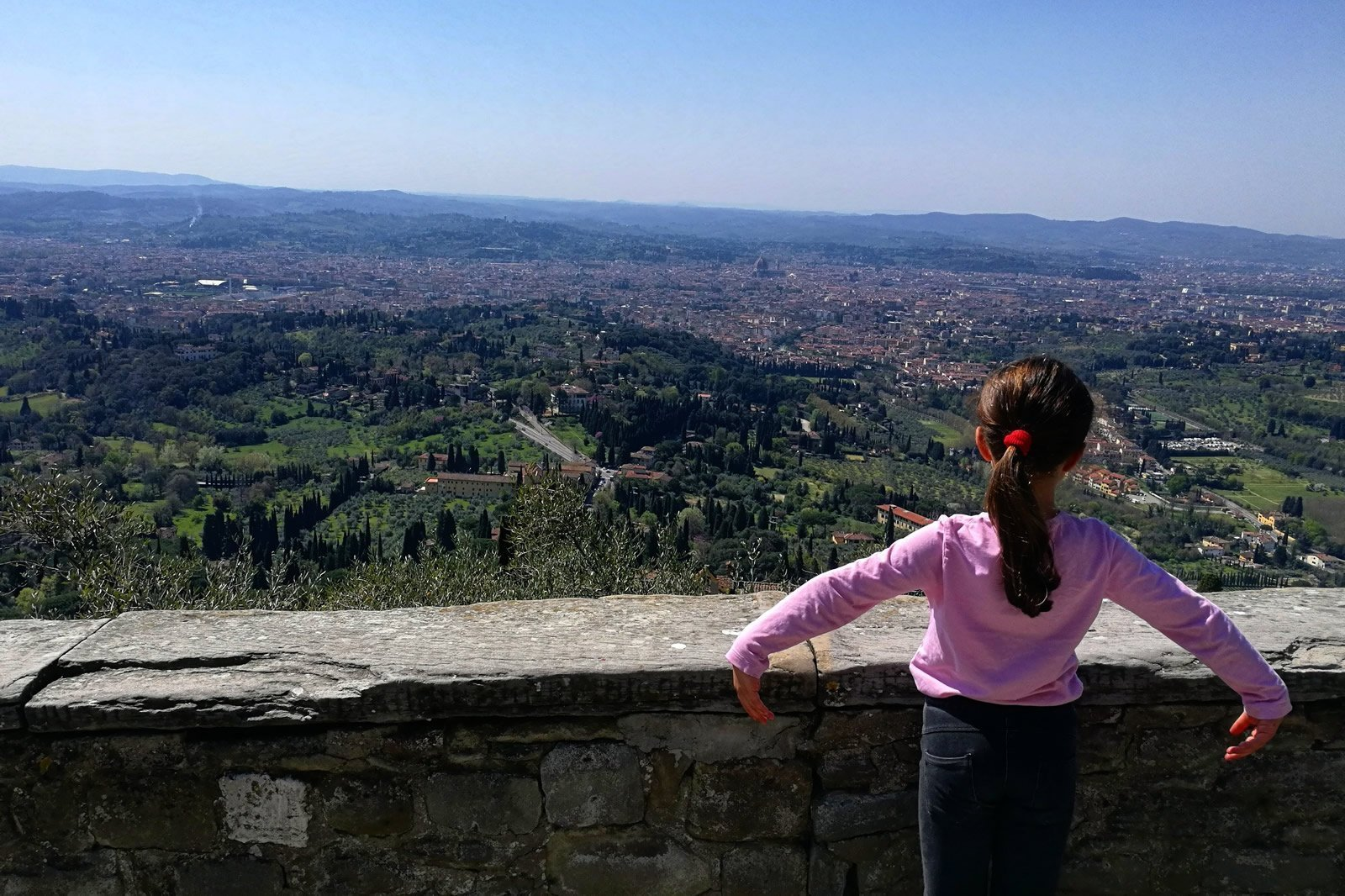 Florence seen from Fiesole