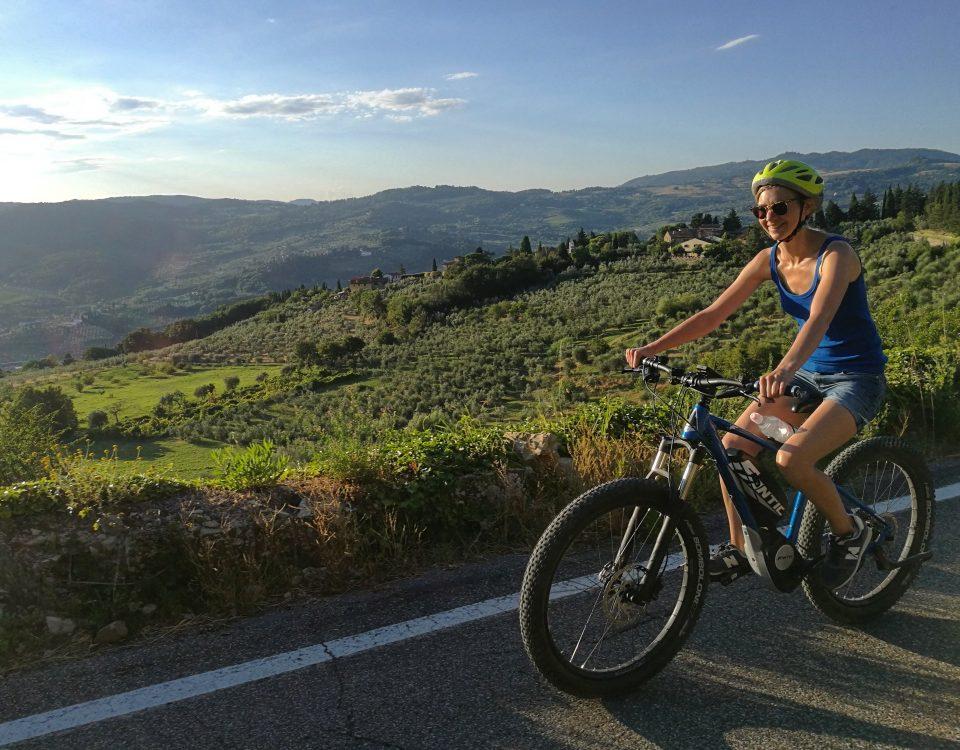 E-bike pane e olio di oliva